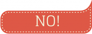 "say ""no"" for a better content strategy"