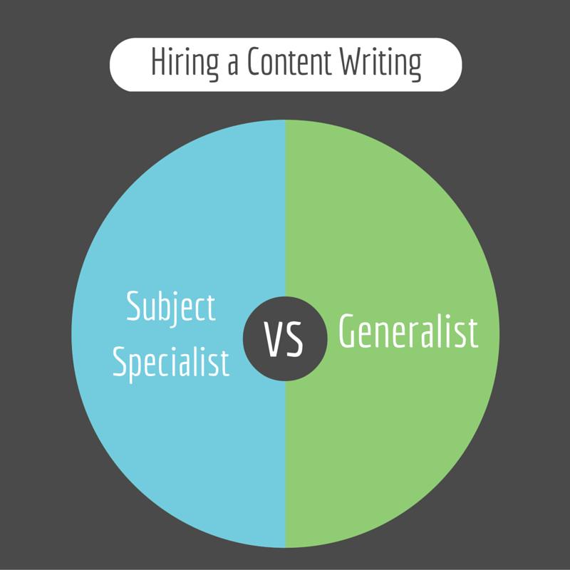 subject specialist vs generalist