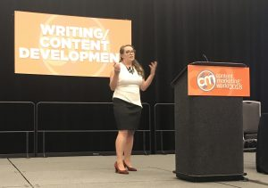 Content Marketing World - Michelle Lazette